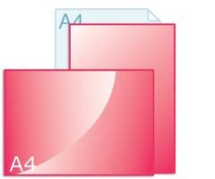 Online flyers drukken op A4 formaat