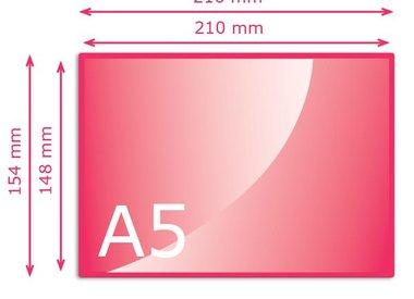 Kleiner dan A5 (148 x 210 mm)