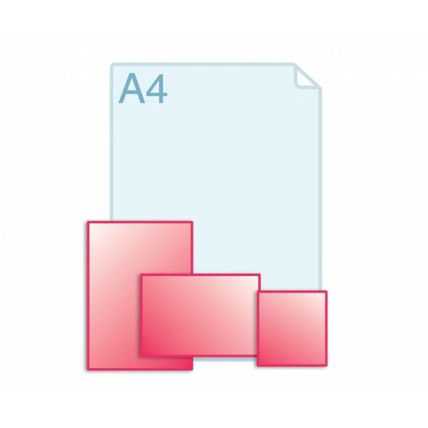 Afwijkend formaat, kleiner dan A5 (148 x 210 mm)