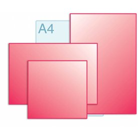 Afwijkend formaat, kleiner dan A3