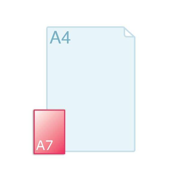 Schrijblokjes Brandgarden A7 formaat