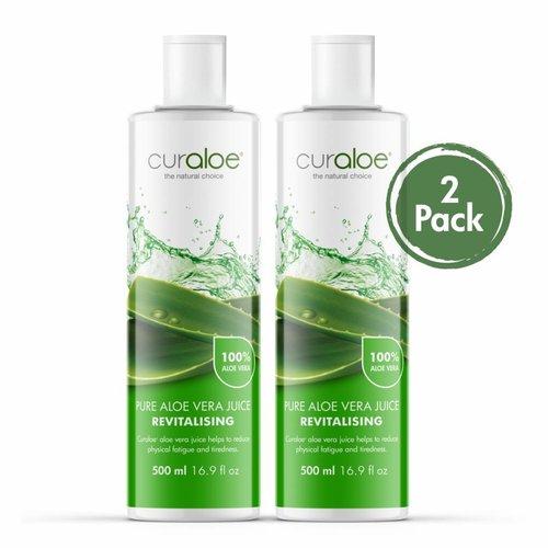 Curaloe® Health line - Pure Aloe Vera Juice 2-pack