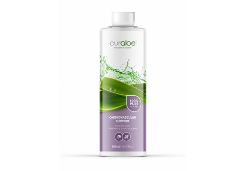 Curaloe® Cardiovascular support Aloe Vera Health Juice - 1 maand pakket