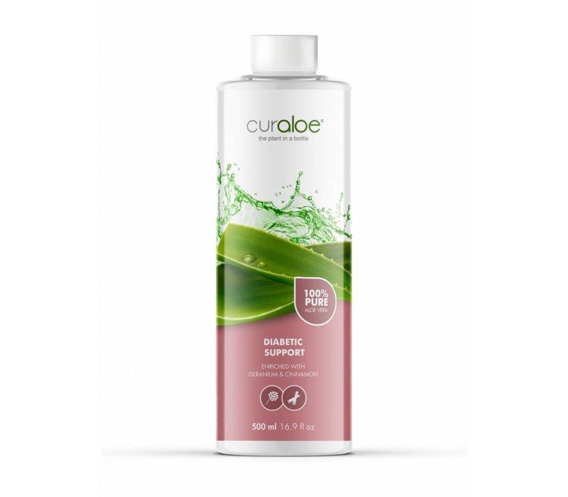 Diabetic support Aloe Vera Health Juice Curaloe - 12 maanden pakket