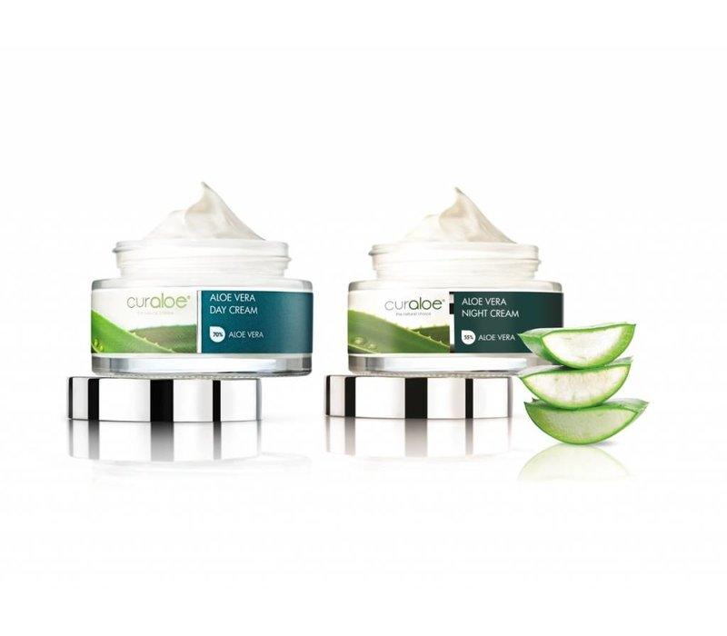 Facial line - Day Cream & Night Cream Combo Aloe Vera Curaloe