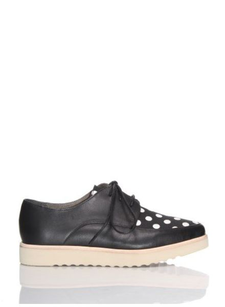 Rollie Madison Derby Wedge black/white