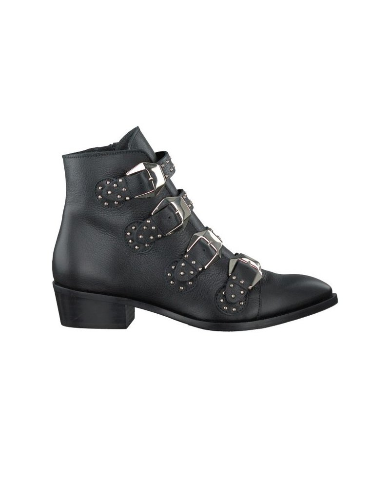 Toral Buckle Boot Black