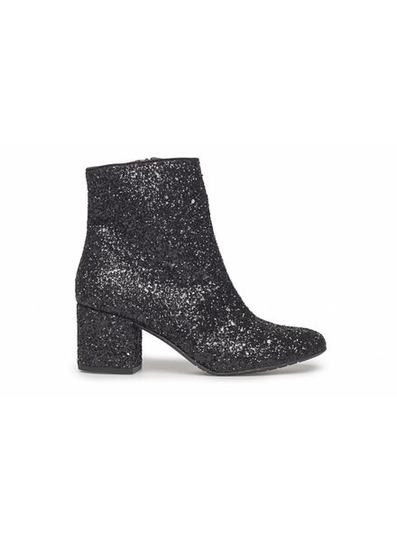 Angulus Sparkle Heel Black