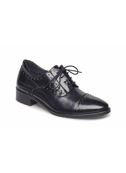Angulus Angulus veter schoen met studs zwart