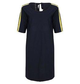 Jane Lushka Dress Darkblue/Yellow