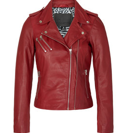 Goosecraft Alicia Perfecto Ruby Red Jacket