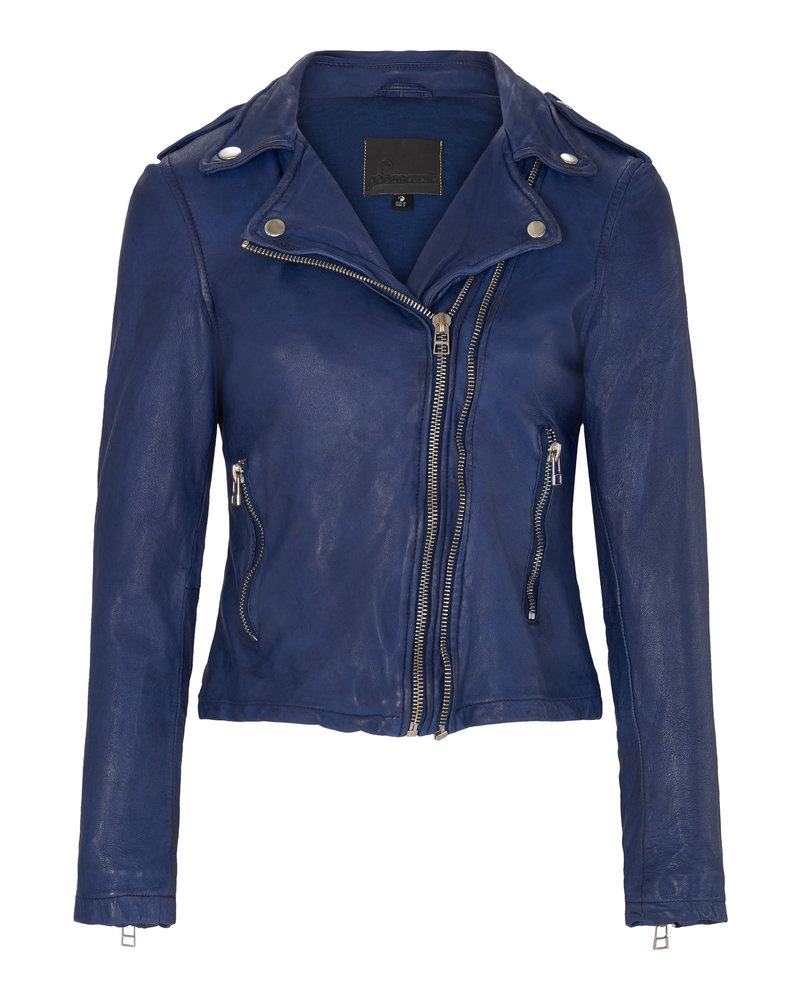 Goosecraft Biker  513 Denim Blue