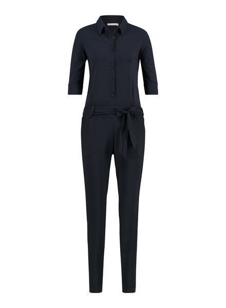 Studio Anneloes Angelique Jumpsuit 3/4 Dark Blue