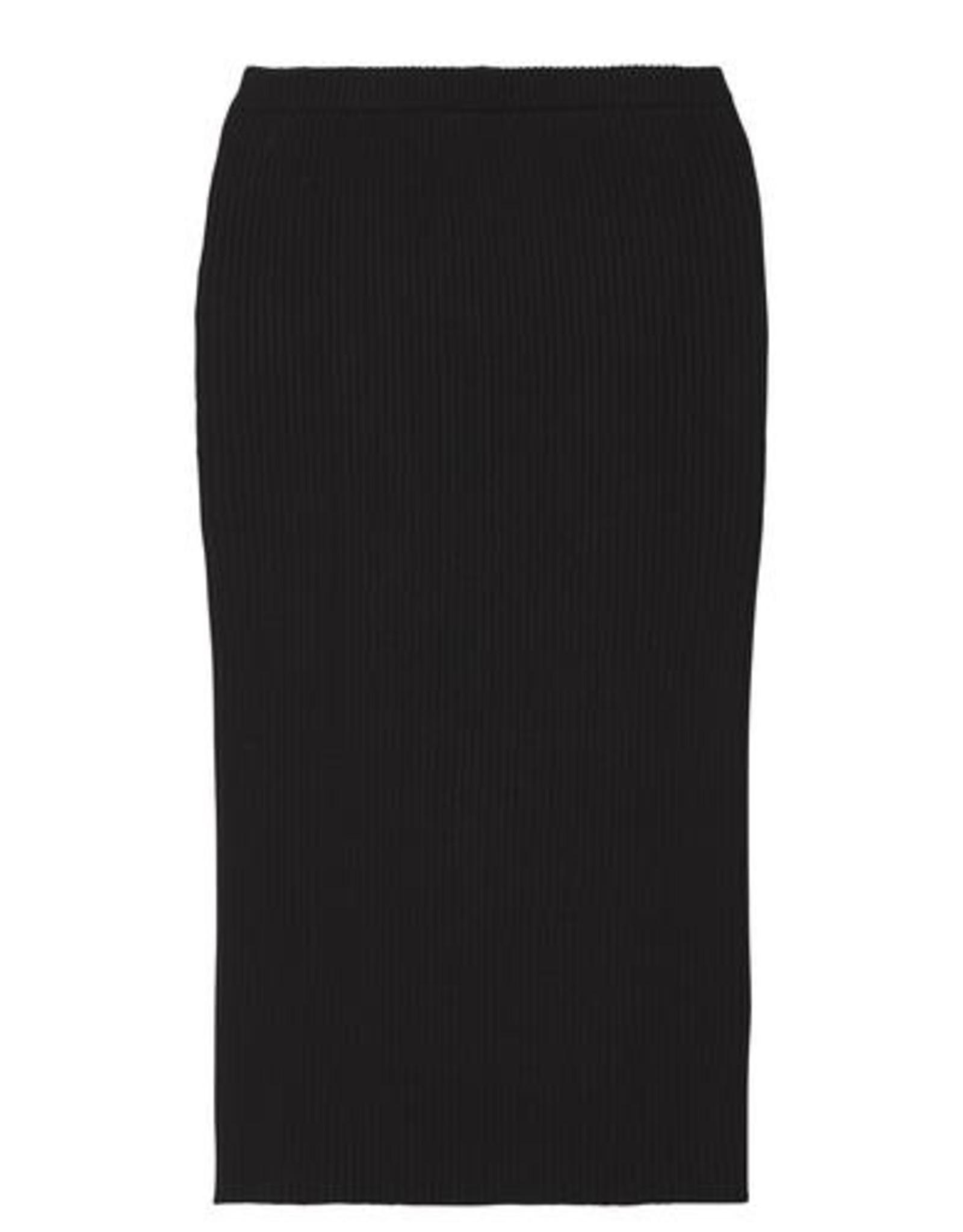 10Days Skirt Rib Black