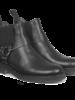 Angulus Chelsea Boot Crepe Sole Black