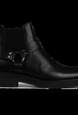 Angulus Chelsea boot Crepe zool Black