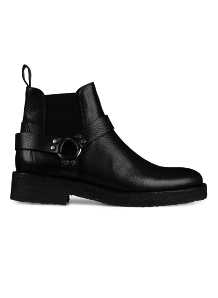 Angulus Chelsea Boot Crepe Sole Black