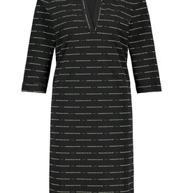 PENN&INK N.Y  Jill Dress Logo Black
