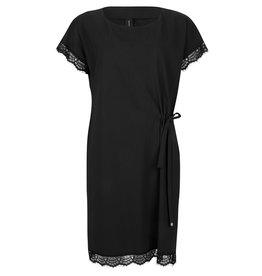 Jane Lushka Linda Lace Dress Black