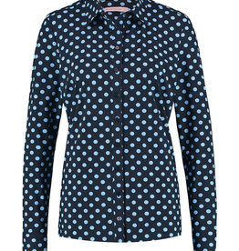 Studio Anneloes Poppy Dot Shirt Darkblue/Skyblue