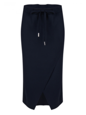 Jane Lushka Edie Drawstring Skirt Darkblue