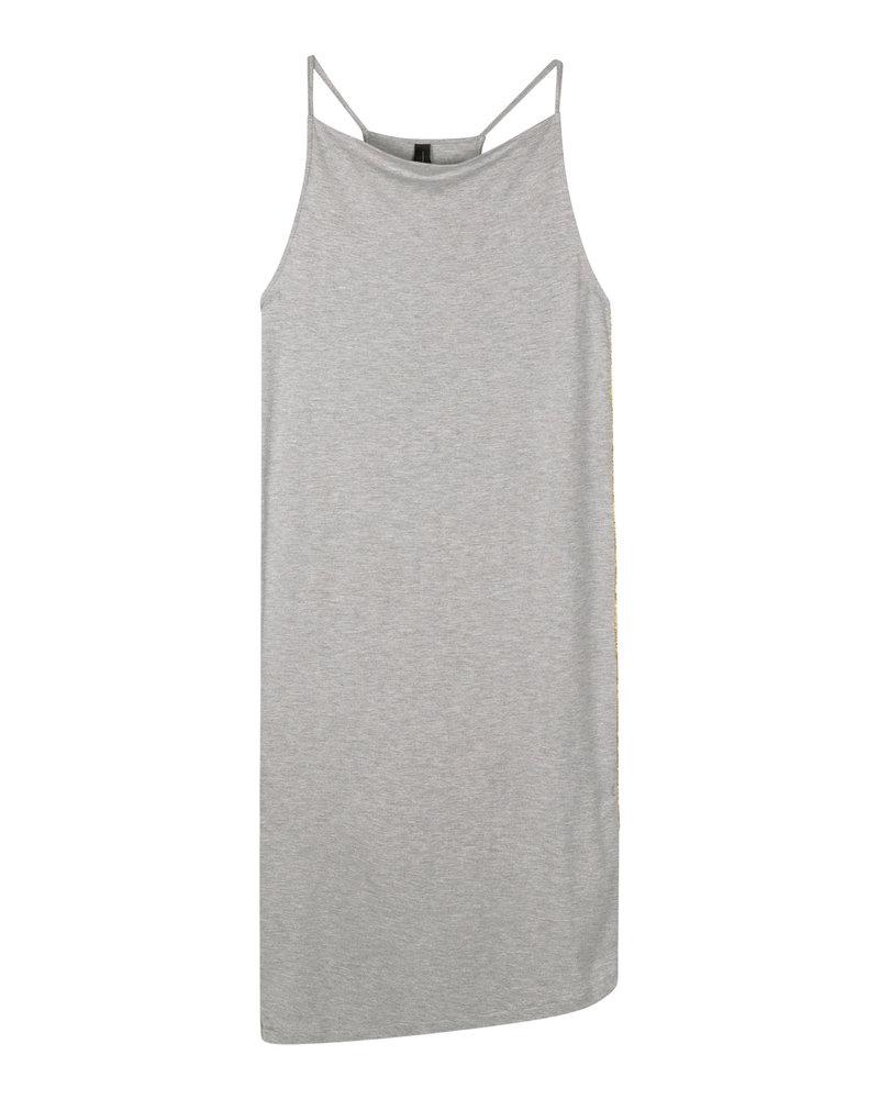10Days Holiday Dress Light Grey Melee