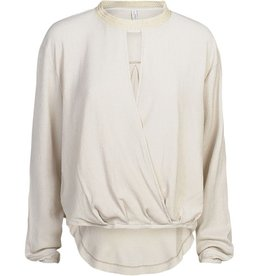 Summum Woman Longsleeve Top White Sand