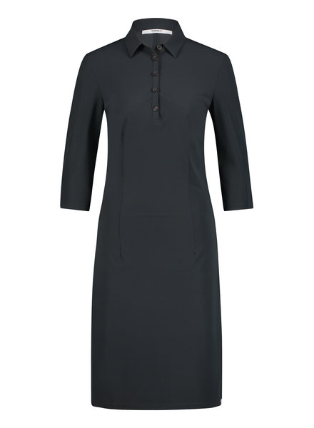 PENN&INK N.Y  Polo Dress Antraciet