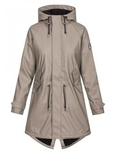 Derbe Hamburg Travel Cozy Rain Coat Brindle