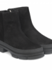 Angulus Boot Lamb Wool Black Suede