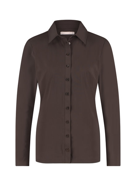 Studio Anneloes Poppy Shirt Coffee Brown