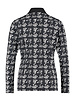 Studio Anneloes Poppy Knit Look Shirt Black/Ivory