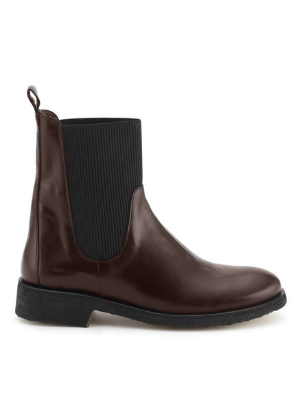 Angulus Chelsea High Boot Dark Brown