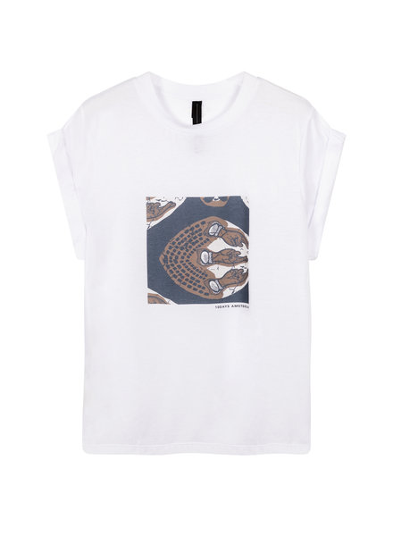 10Days T-shirt Ethnic Print White