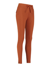 Studio Anneloes Downstairs Bonded Trousers Cinnamon