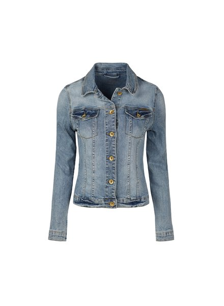 Summum Woman Basic Denim Jacket Blue