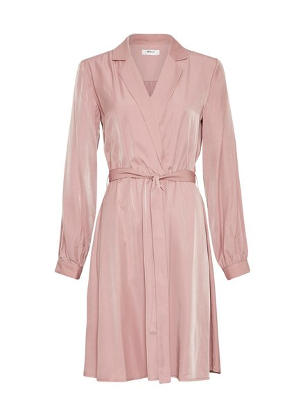 Moss Copenhagen Nille LS Dress Ash Rose