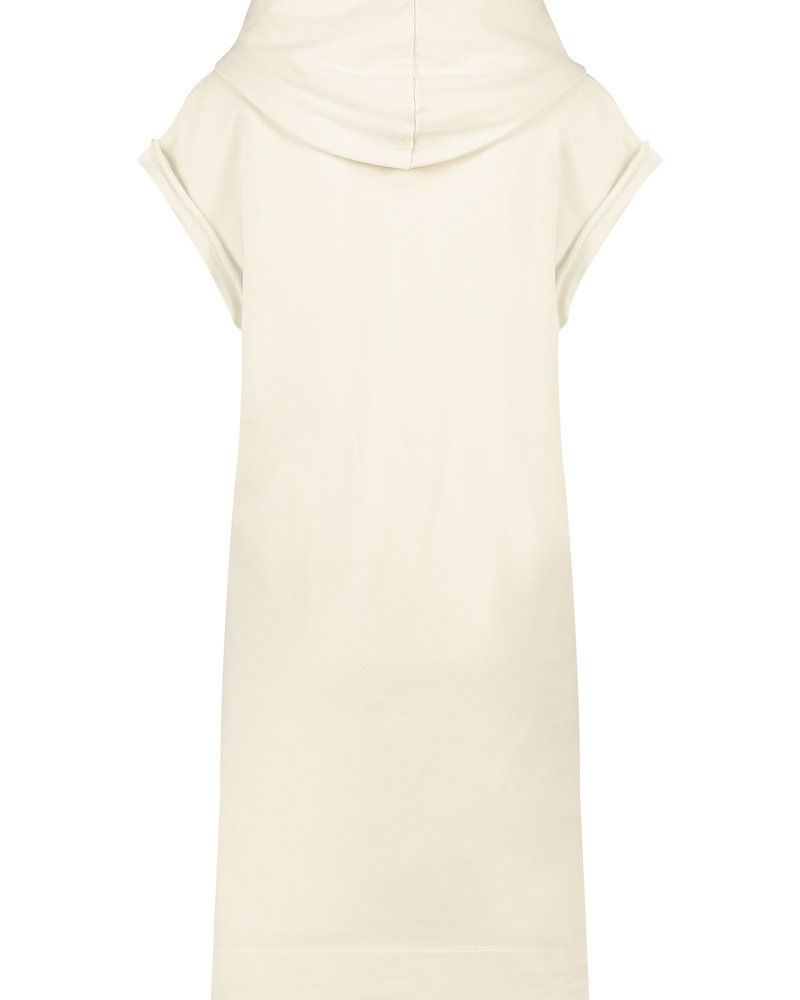 PENN&INK N.Y  Sweatdress Print Pelican/White