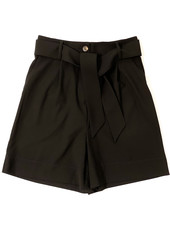 PENN&INK N.Y  Tailored Short Trousers Black
