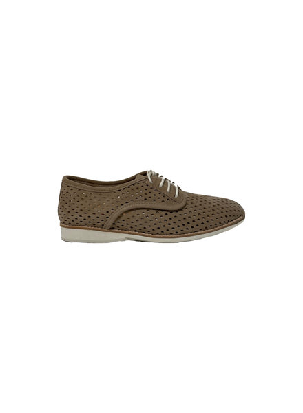 Rollie Derby Punch Light Taupe Suede