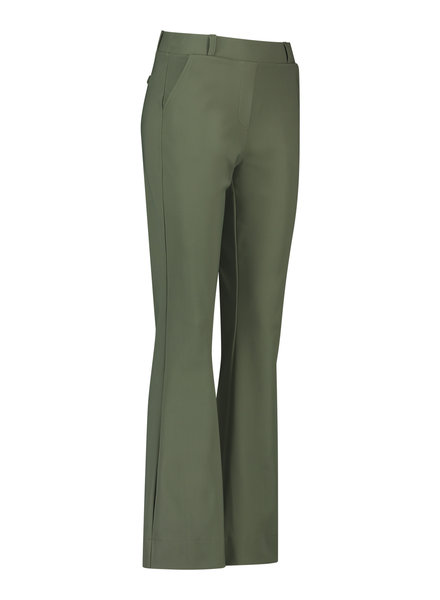 Studio Anneloes Flair Bonded Trousers Green