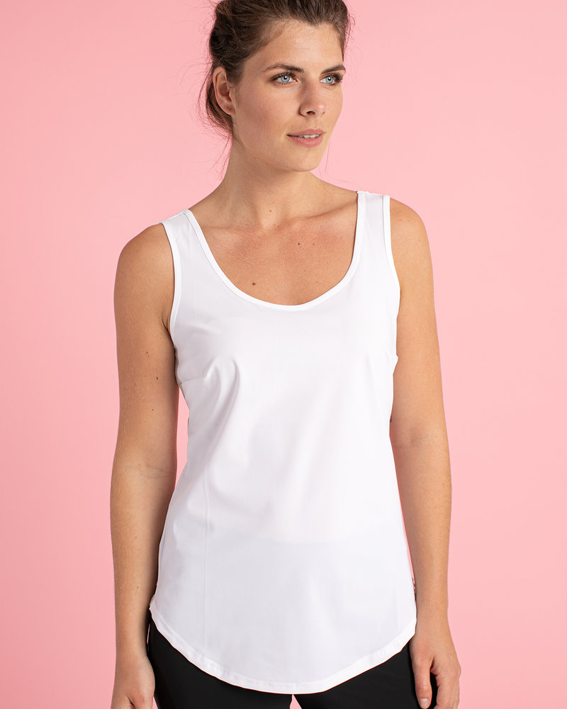 Studio Anneloes Race Basic Top Offwhite