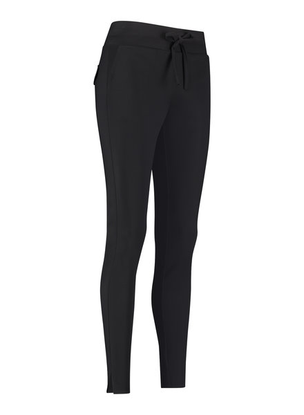Studio Anneloes Downstairs Bonded Trousers Black