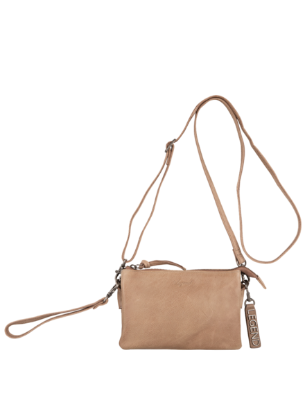Legend Bags & Belts Como Bag Taupe