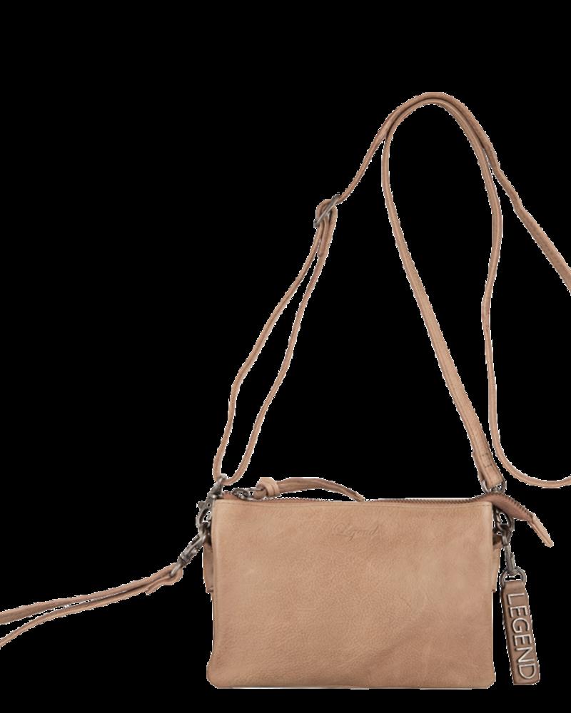 Legend Bags & Belts Como Bag Taupe