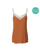 Summum Woman Singlet Dot Viscose Terra
