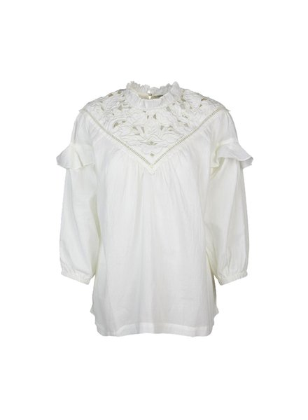 Summum Woman Top Lace Patch Shell
