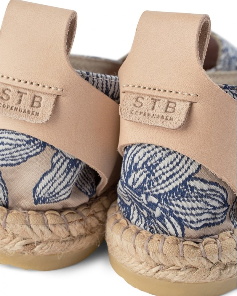 Shoe the Bear Espadrille Iris Blue