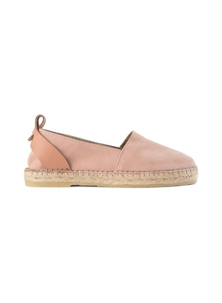 Shoe the Bear Espadrille Iris Soft Pink Suede