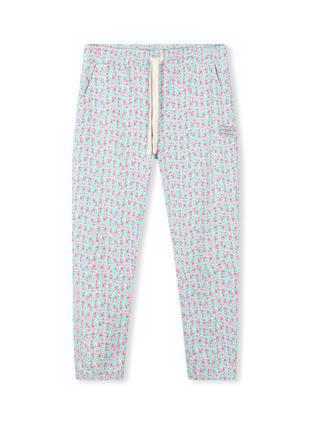 10Days Cropped Jogger Foral Ecru